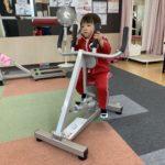 Jサーキット紀伊川辺運動遊びをするお子様